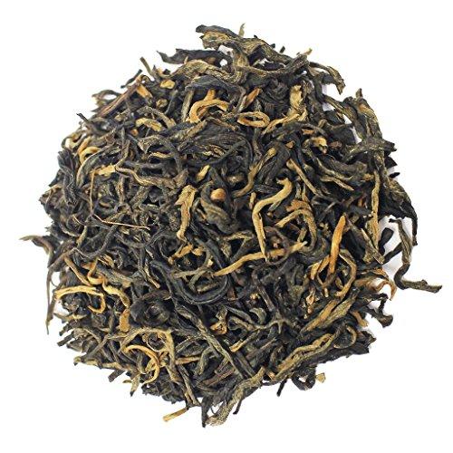 The Tea Farm - Golden Monkey Black Tea - Yunnan, China Loose Leaf Black Tea (8 Ounce Bag)
