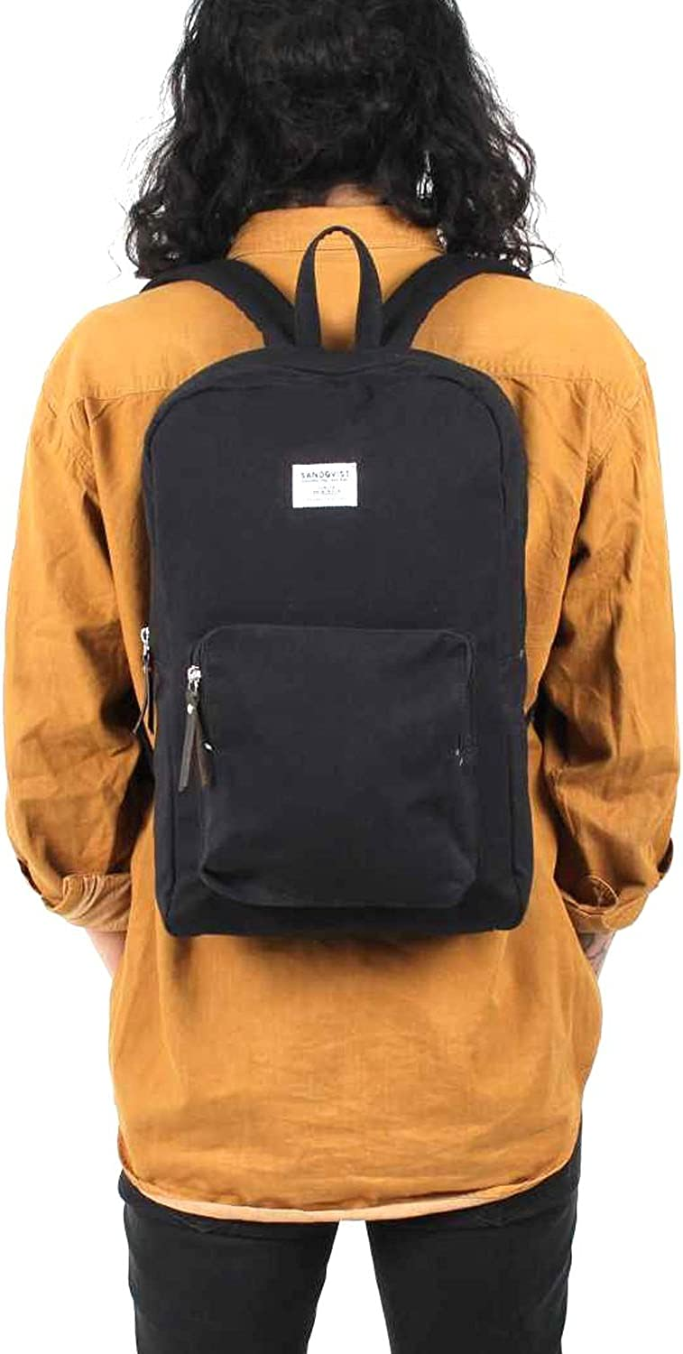 Black Sandqvist Kim Ground Backpack