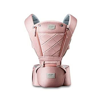 SONARIN Multifunctional Front Hipseat Baby Carrier,Ideal Gift Brown
