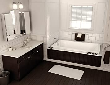 Maax 101954 000 001 000 White Professional Acrylic Tub Apron Less Access  Panel