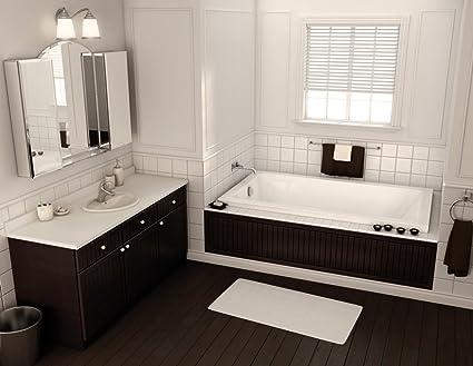 Maax 101456 000 001 100 White Professional Pose 6030 Soaking Tub 60u0026quot;