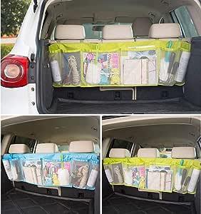 WEUPE Trunk Organizer for Car Car Backseat Organizer