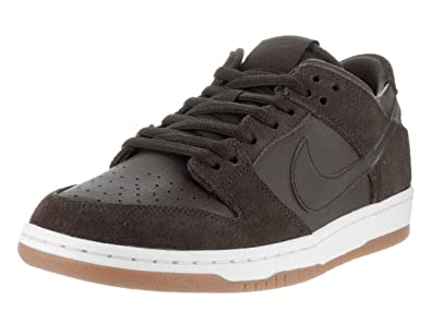 09f36d8e9d33 NIKE Men s Dunk Low Pro IW Baroque Brown Leather Skate Shoes 8