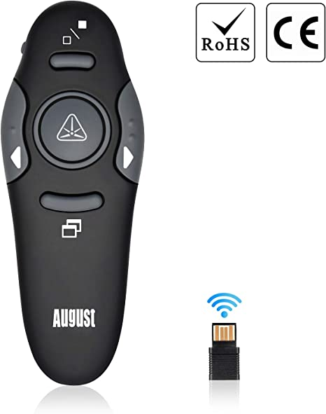 US RED Laser Pointer USB Wireless Remote Control Click PPT Presentation Lecture*
