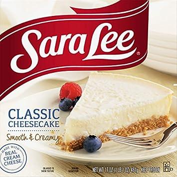 Sara Lee Original Classic Cheesecake 17 Oz Frozen Amazon