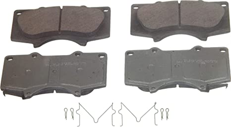 FRONT + REAR SET Wagner ThermoQuiet Ceramic Disc Brake Pads WG96292