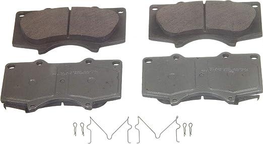 Front Wagner ThermoQuiet QC1050B Ceramic Disc Pad Set