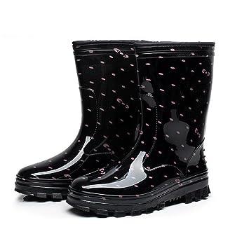 In der Tube Lady Regenstiefel / Antirutsch-Regenstiefel / wasserdichte  Schuhe , 3 , 37