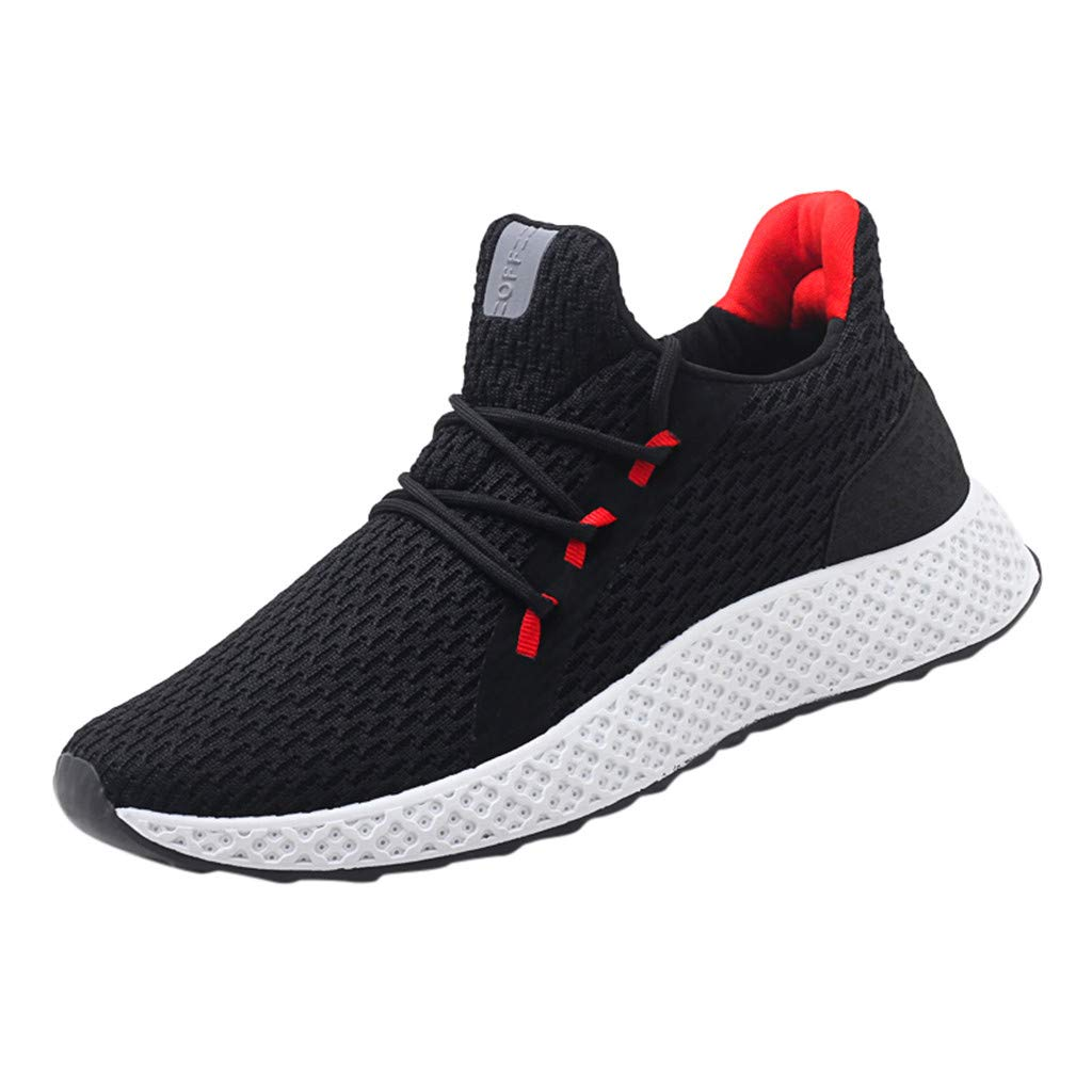 9d48ff7836 Amazon.com: JJLIKER Men Outdoor Running Shoes Breathable Comfortable  Lightweight Non-Slip Athletic Sports Casual Fashion Sneakers: Clothing