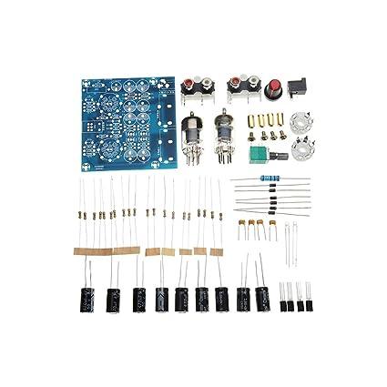 Amazon com: 61Pcs DIY Valve Tube Amplifier Kit Modual 6J1
