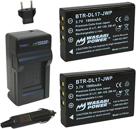 AC Adapter Works with Compatible with Toshiba Camileo H30 PA3791U-1CAM-02 Camcorder Power Cord Charger