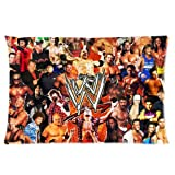 "World Wrestling Entertainment WWE Pillow Case Protector Rectangle Pillow Case Cover One Side 16""x24"""