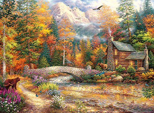 Buffalo Games - Chuck Pinson Escapes - Call of the Wild - 1000 Piece Jigsaw Puzzle