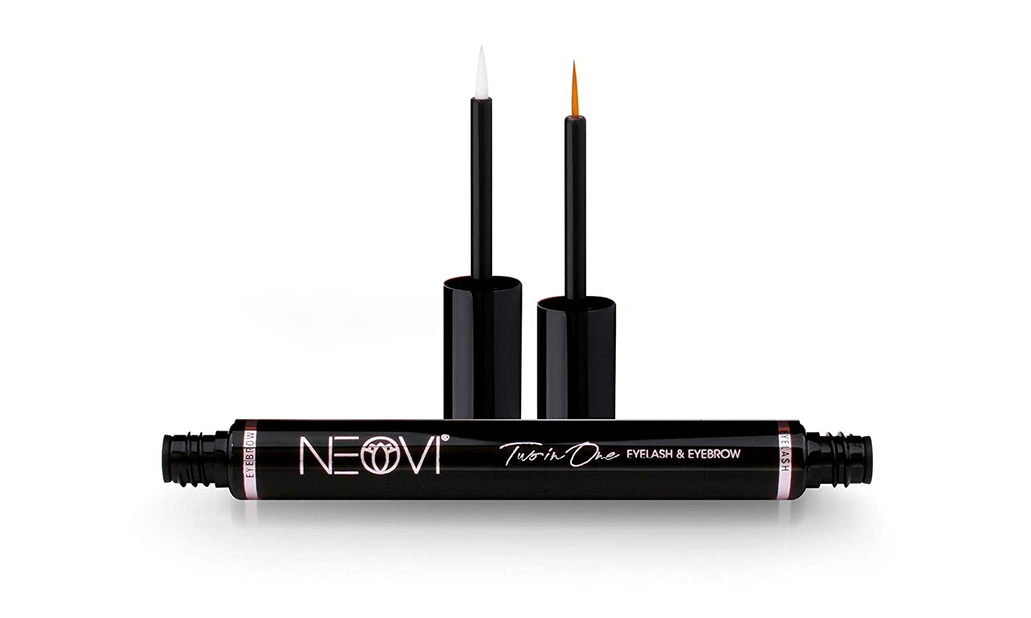 """NEOVI Eyelash + Eyebrow Enhancing ACTIVATING Growth Serum with HYALURON For Fuller, Longer, Thicker, Stronger, Healthier, Luscious Lashes & Brows """"DERMA-TEST Certified"""" Made in GERMANY 6 ML 0.2 Fl Oz"""