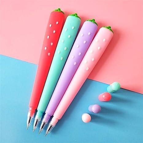 Amazon.com: Soft Silica Strawberry Shape Cute Pea Sprouts ...