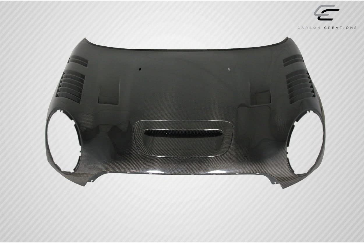 Carbon Creations Replacement for 2007-2015 Mini Cooper R55 R56 R57 R58 R59 DriTech Racer Hood 1 Piece