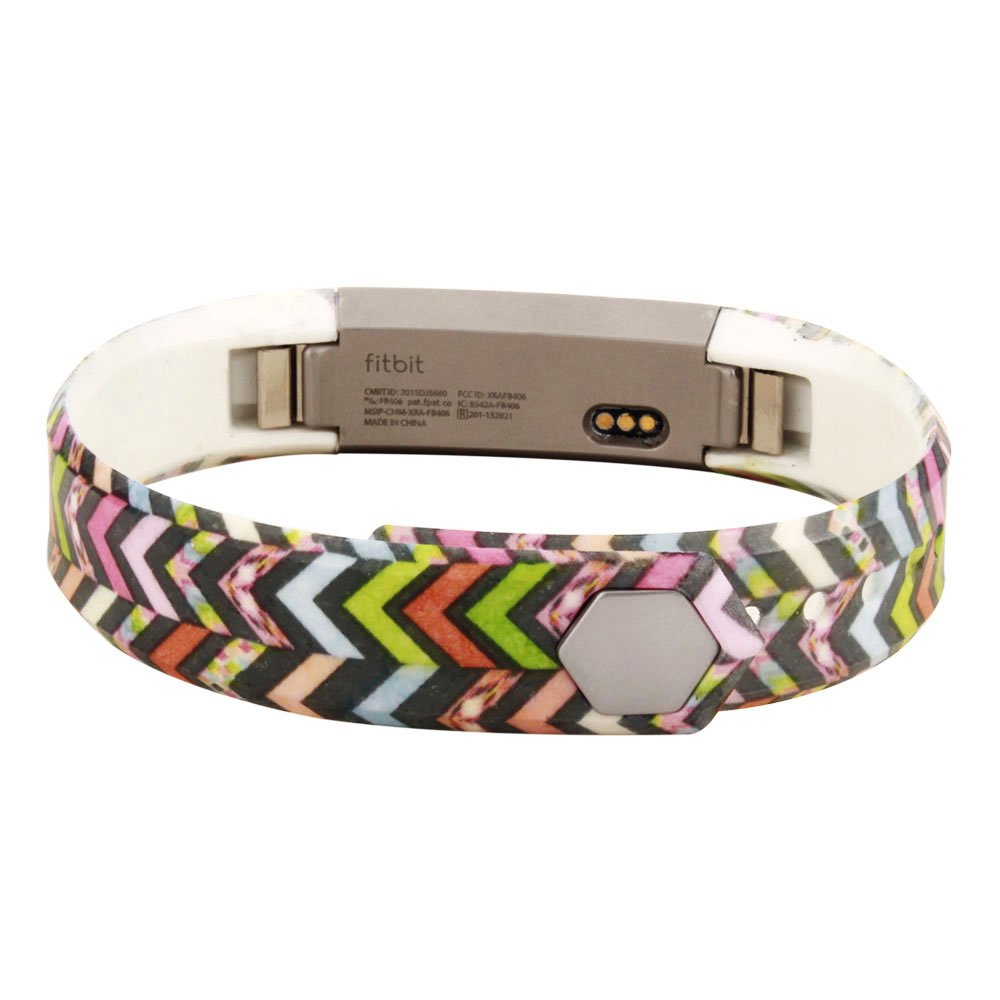 Humenn Replacement Band for Fitbit Alta Fitness Wrist Replacement Band Large Colorful Chevron HUMENN Inc A-SPORT-D-ONE4