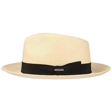Stetson Solano Fedora Panama Hat Men | Made in Italy at Amazon Mens Clothing store: