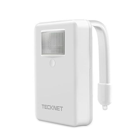 TeckNet – Portátil Activado por Movimiento LED Inodoro Luz De Noche baño lámpara de luz nocturna