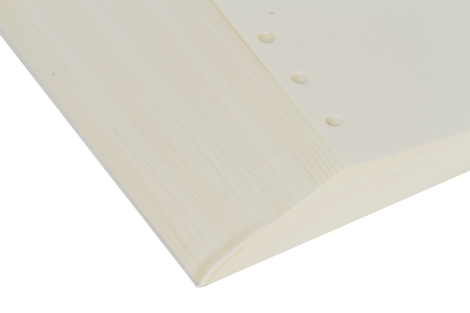 8.3 x 11.5 A4 Kraft Refill Paper 4 Hole Punched Filler Paper Refills for A4 Loose Leaf Notebook Travel Journal Personal Diary Planner Binder Scrapbook 100 Sheet//200 Page