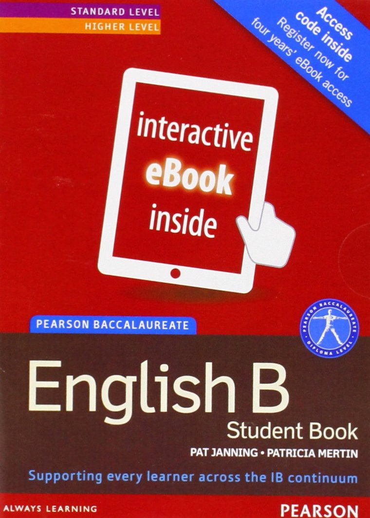 Pearson Baccalaureate English B ebook only edition for the IB ...