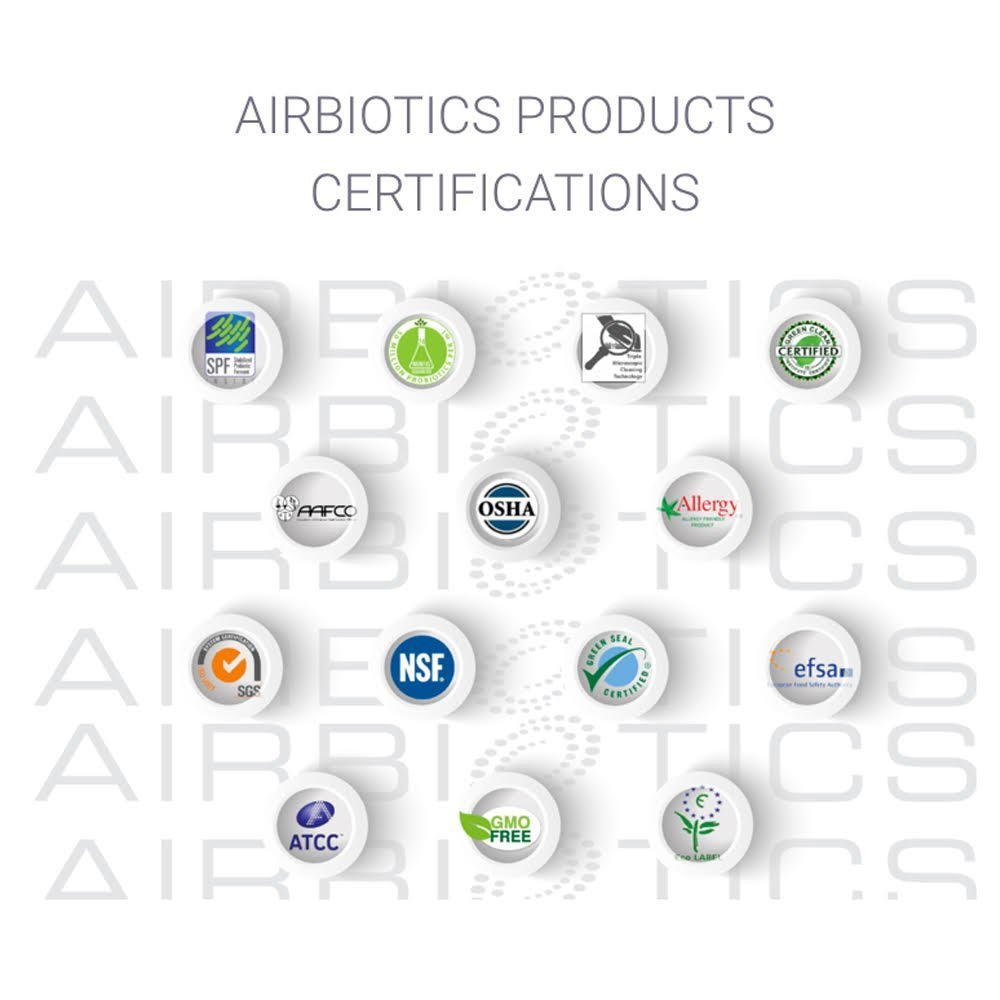 AirBiotics StaBiotics Natural Beneficial Probiotics for a Safe & Stable Odor Free Environment, 7.05...