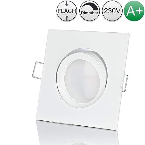 Strahler Spot Aufbaustrahler Aluminium LED Modern weiss