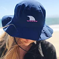 29680bce045 UPF 50 Navy and Hot Pink Bucket Hat UPF 50 Navy and Ocean Blue Bucket Hat
