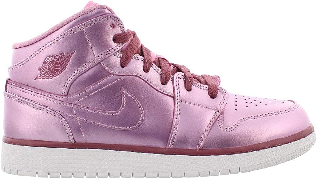 Air Jordan 1 Mid SE Pink Rise/White