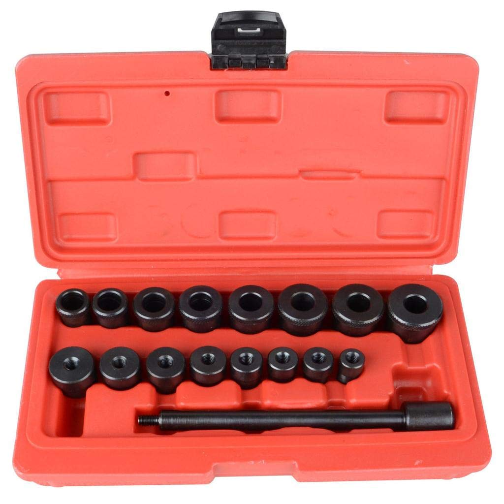 Jialili 17pc Universal Clutch Alignment Tool Set Clutch Alignment Tool for All Cars and Trucks Black by Jialili