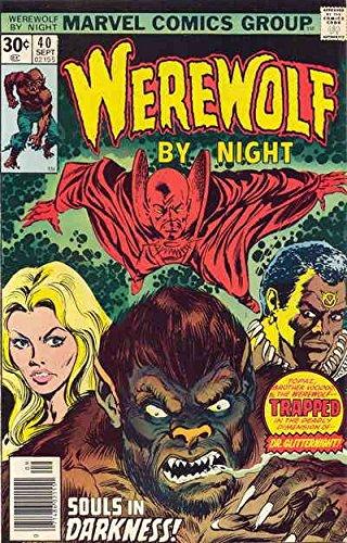 Werewolf By Night #40 VG ; Marvel comic book