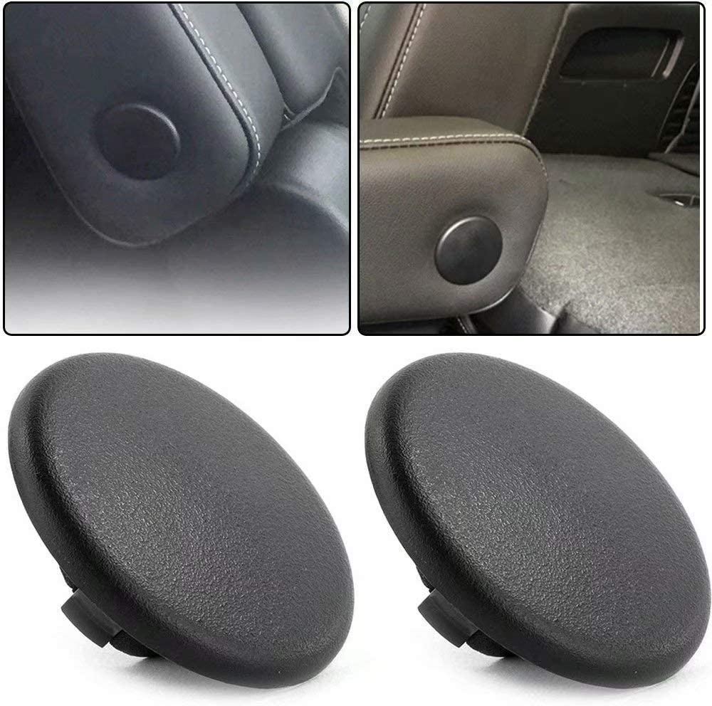 PAKCEEINC 2PCS Black//Grey//Beige Color Replacement Armrest Cap Cover for Chevy Tahoe Suburban GMC Yukon 2007-2017 Beige