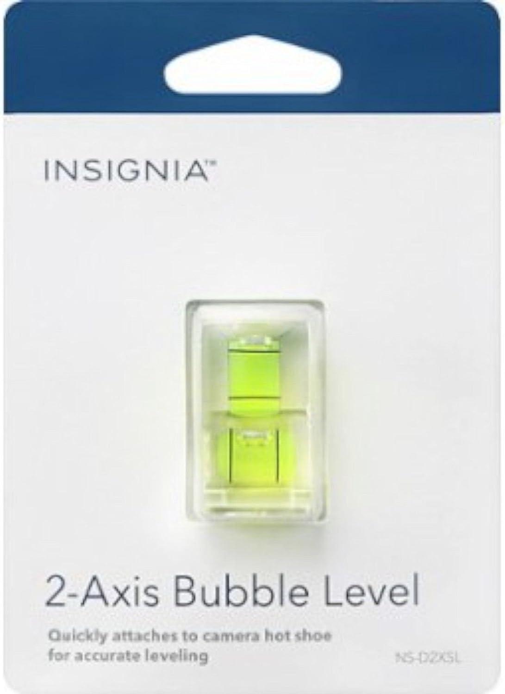Insignia NS-D2XSL 2-Axis Camera Bubble Level compact easy hot shoe leveler