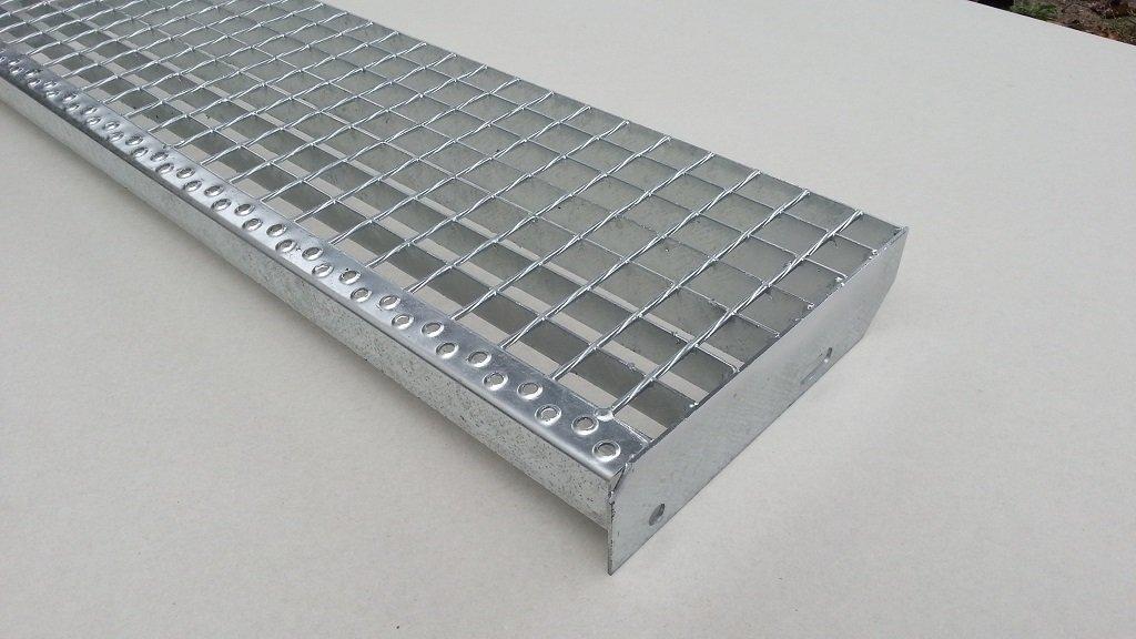 Gitterrost Treppenstufen Stufe 800 x 270 Tragst/äbe 30 x 2