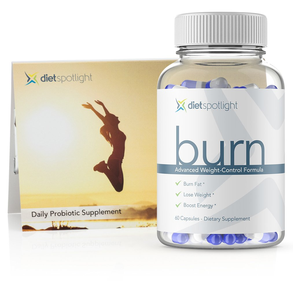 Burn TS HealthKit - Weight Loss Formula Metabolism & Energy Booster, Appetite Suppressant, Safe & Effective Thermogenic Supplement (1 Month + 3-Day Probiotic)