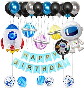 Party Decorations 36 pcs Birthday Balloons for Baby,Children,Boys Birthday Party