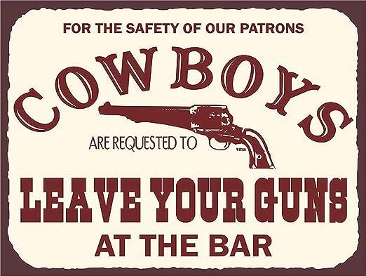 Cowboys Carteles de Chapa Póster de Pared Hojalata Vintage ...