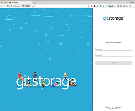 gitstorage Source Code Server (16GB)