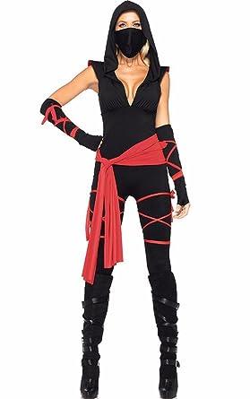 Amazon.com: Sexyshine Womens Roleplay Deadly Ninja ...