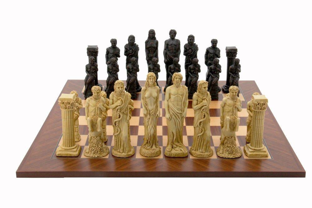 グランドセール L2031DR Dal Rossi Italy Gods Of L2031DR Mythology Chess Set Italy 20