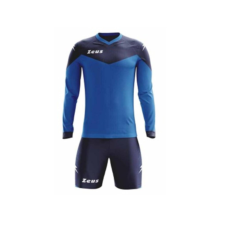 Zeus Kit ULYSSE ML Calcio Calcetto Completino Completo Maglietta E Pantaloncino Sport TORNEO