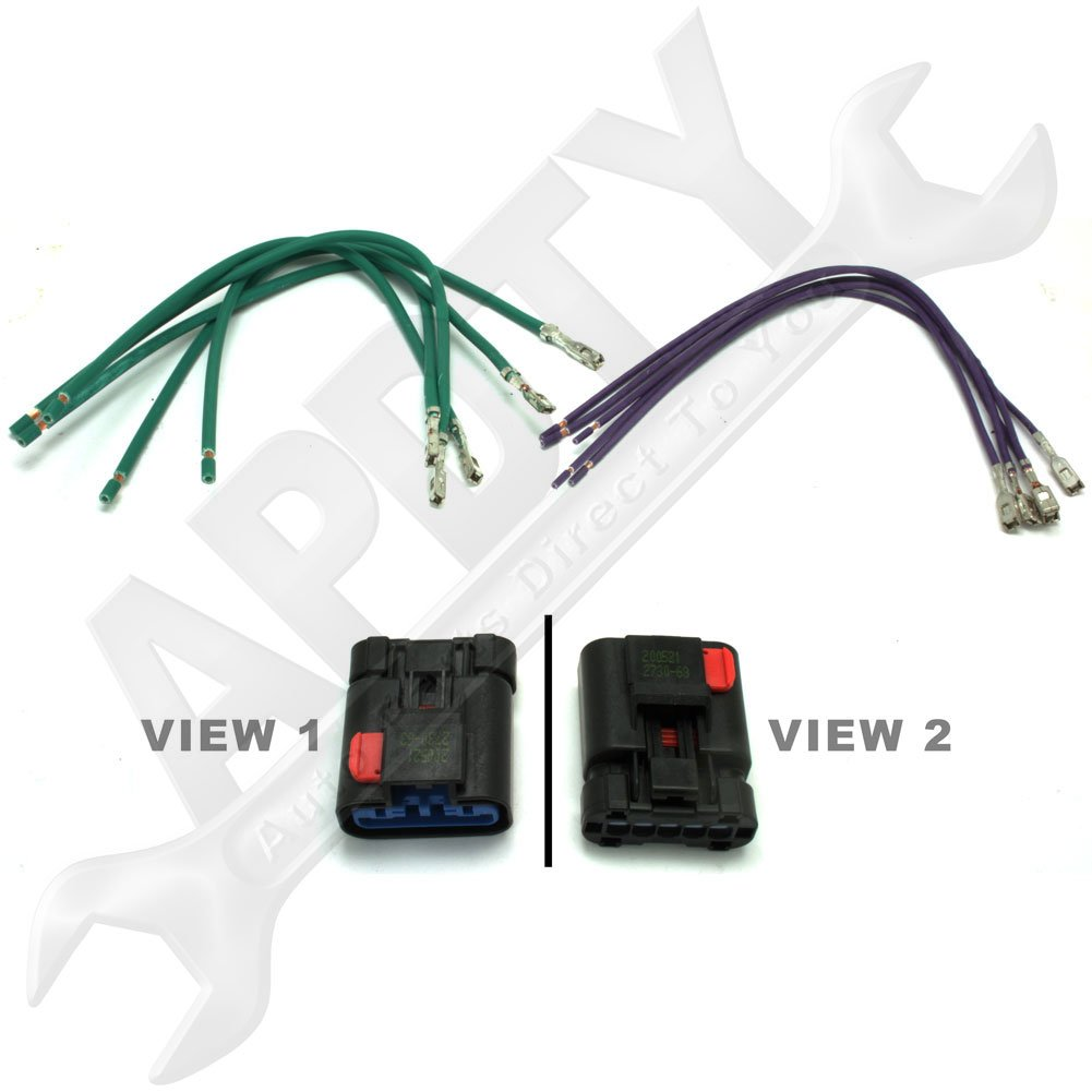 61cwt5hLwVL._SL1001_ amazon com apdty 5017124ac hvac blower motor resistor wiring  at eliteediting.co
