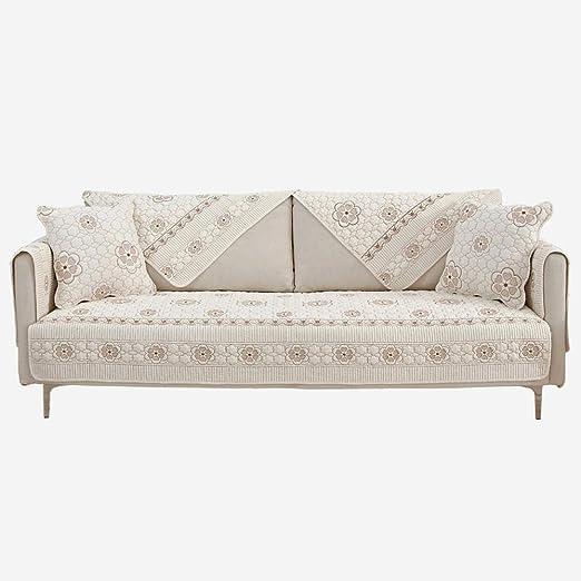 fundas sofa chaise longue,Sofá de tela de algodón Funda de funda ...