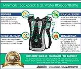 Hydration Pack - Ultra Lightweight! - Minimalist Backpack...