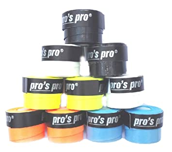 Pro 10 Overgrip Pros Tacky Tennis Grips Super Tacky: Amazon.es: Deportes y aire libre