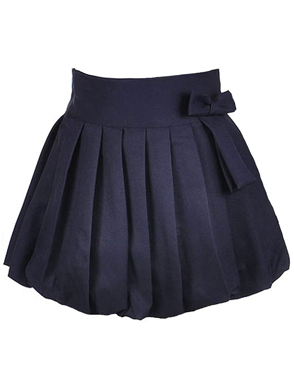 U.S. Polo Assn....... Big Girls' Bubble Pleat Scooter Skirt