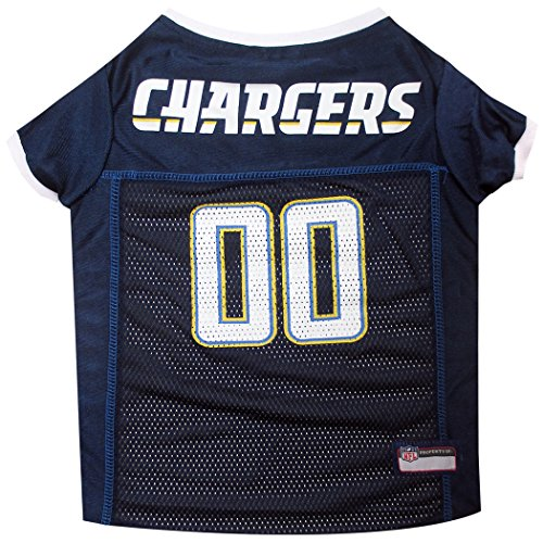 Pets First NFL San Diego Chargers Jersey, Medium ()