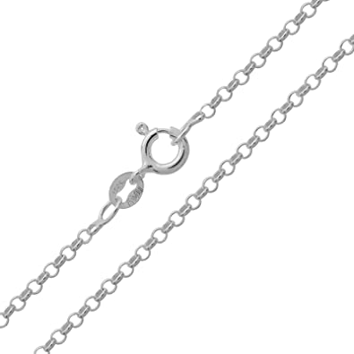 925 Sterling Silver Bead Ball Chain 22 Inches Length 2mm Width High Quality Qc5h4TLahS