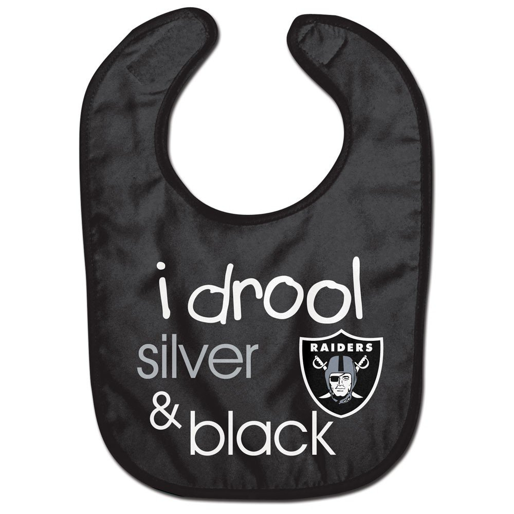 NFL Oakland Raiders WCRA1963414 All Pro Baby Bib