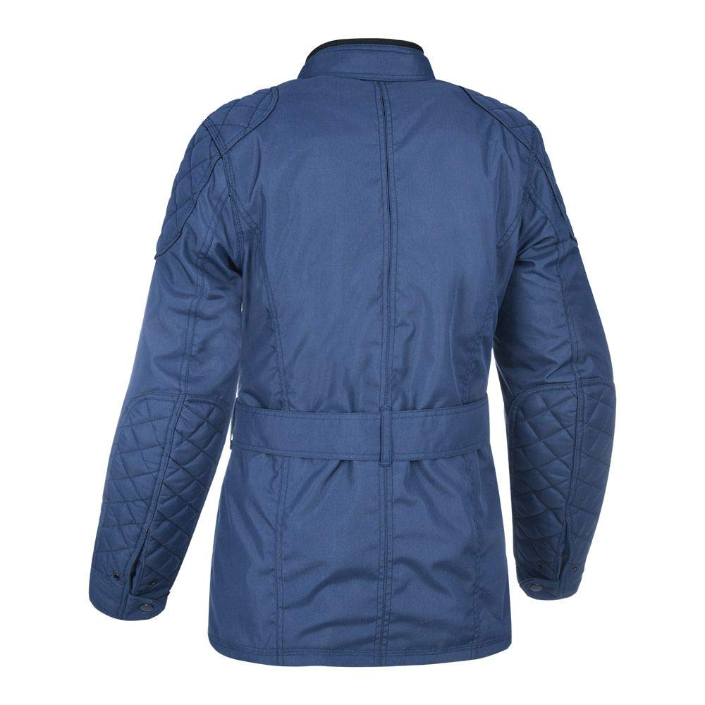 Navy Oxford Churchill Ladies Motorcycle Jacket